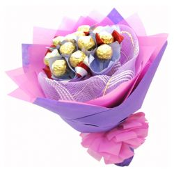 12pcs Ferrero Rocher in Bouquet to Philippines