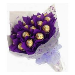 16pcs Ferrero Rocher in a Bouquet Send to Philippines