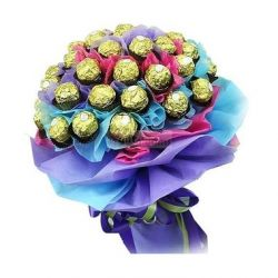 24pcs Ferrero Rocher in a Bouquet to Philippines