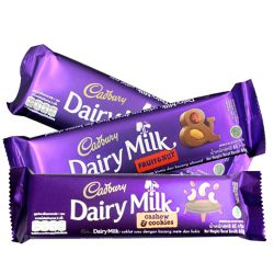 send  cadbury 3 assorted bars 65g each to philippines