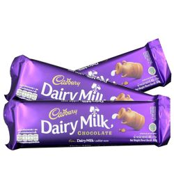 send cadbury dairy milk 3 bar 65g. each to philippines