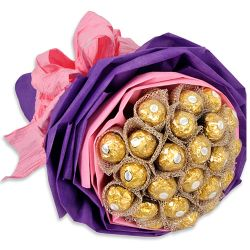 send 16pcs ferrero rocher in bouquet to philippines