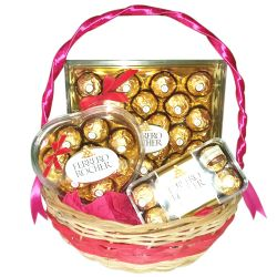 send delicious ferrero chocolate basket to philippines
