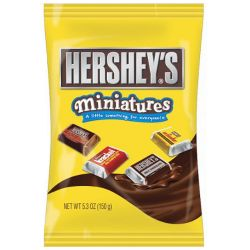 send hersheys miniatures pack 150g. to philippines