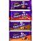 Cadbury Dairy Milk 4 Assorted Bars 75g each  Send to Philippines